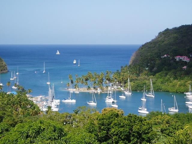 Eastern Cribbean Island of St Luciac