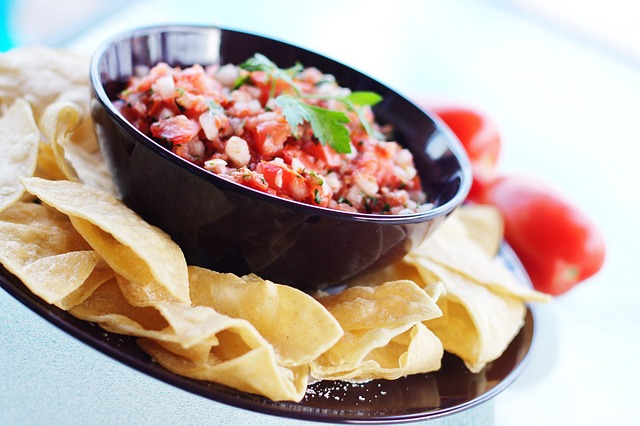 Delicious Salsa and Chips