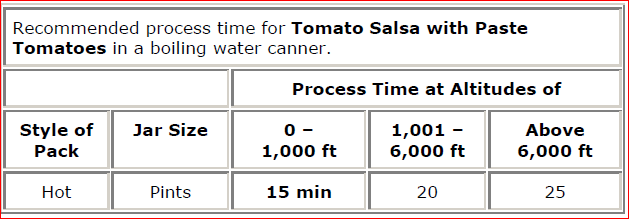 Tomato Salsa with Paste Tomatoes