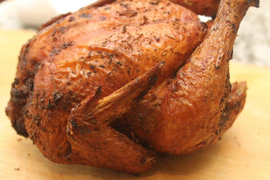 Capt'n Salsa's Grill Roasted Chicken make that Yard Bird!